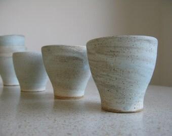 Ceramic Tea or Espresso Cups - Set of 3