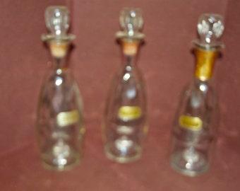 mid-century decanter set