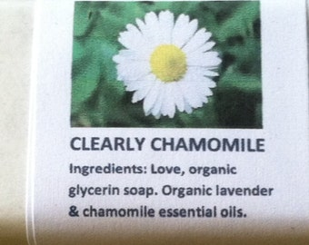 Clearly Chamomile Soap