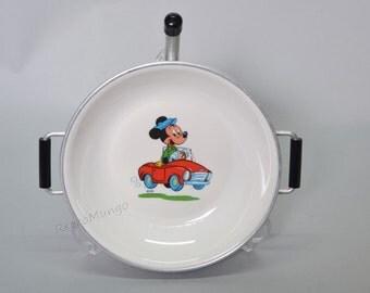 Children's warming plate made by Cormar Holland - Mickey - Disney