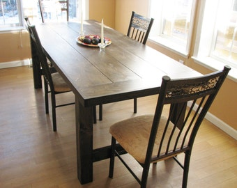Dining Table, FREE SHIPPING, Farmhouse, Rustic, Country, Distressed, Modern