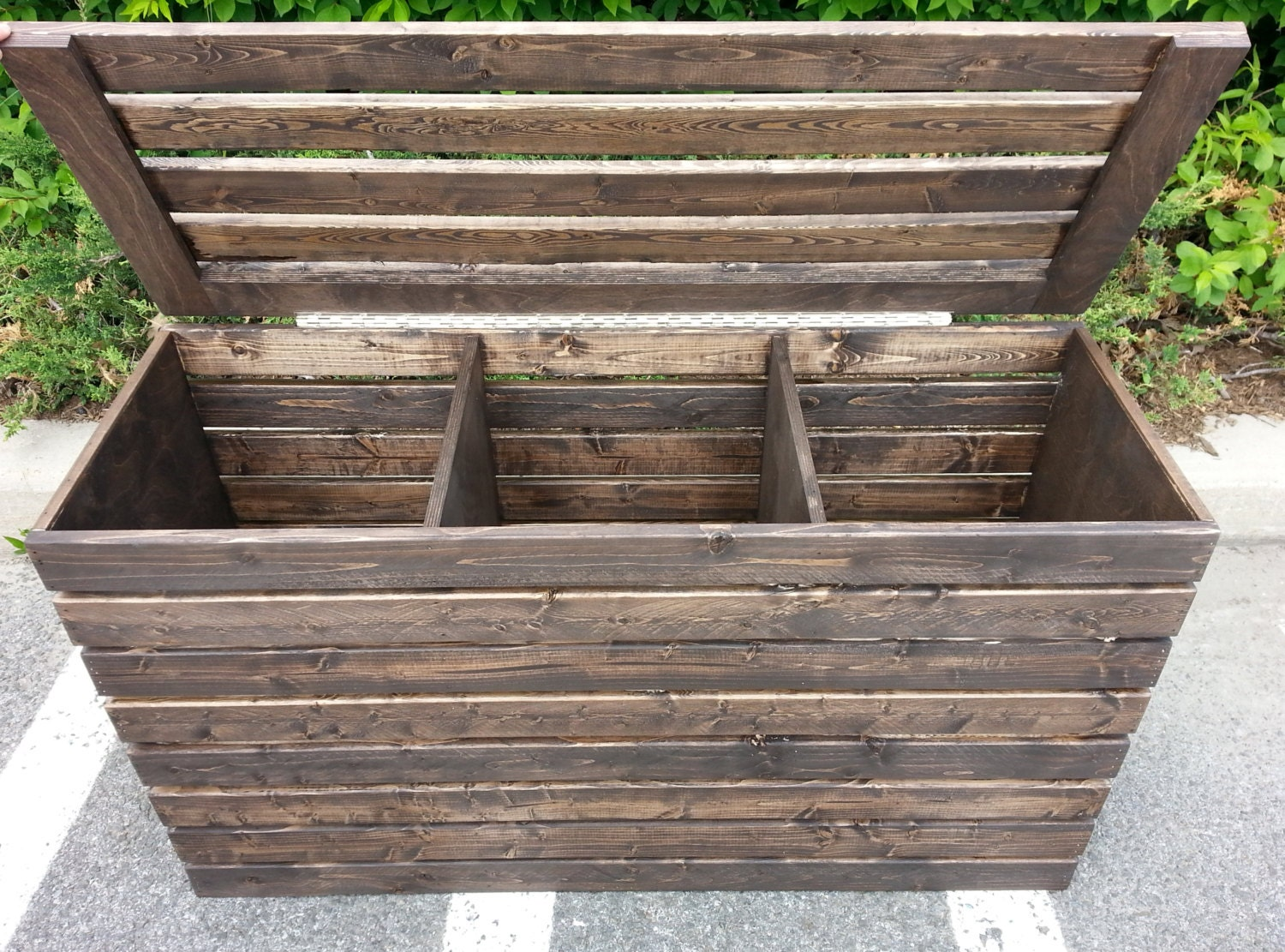 Laundry basket free shipping rustic crate by rusticfurniturecraft