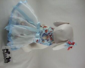 Snow Angel - Reversible Dog Dress
