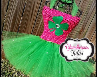 St. Patrick's day tutu dress| Irish tutu tutu| St. Patty tutu | newborn- size 8/10 child listing|