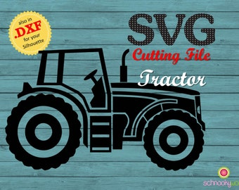 Tractor SVG, Farm Tractor SVG, Tractor, Design Tractor, Vehicle Design, Tractor SVG File