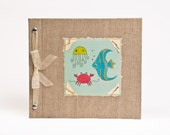 Baby Book - Baby Memory Book - Neutral, Unisex, Baby Album - Under the Sea Baby Memory Book - Hugs and Kisses XO Baby Memory Book