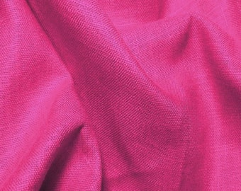 Linen Fabric By the Yard Soft Neva 9.5oz - ORCHID European Linen (Upholstery, Home Decor)