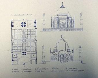 Taj Mahal Blueprint
