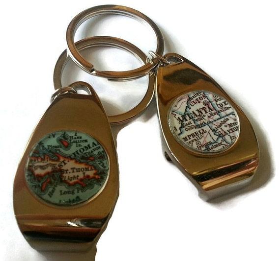 custom bottle opener keychain personalized mens custom gift. Black Bedroom Furniture Sets. Home Design Ideas