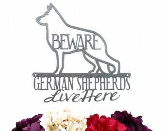 German Shepherd Sign Etsy