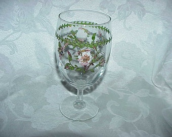 Portmeirion Botanic Garden Dog Rose Iced Tea Glass