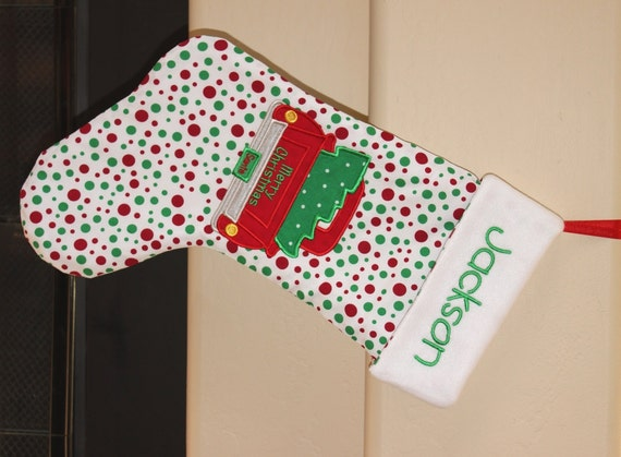 Christmas Stocking Design Your Own Personalized Christmas