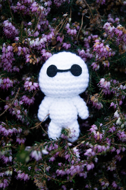 Mini Baymax Crochet Amigurumi Plush by MyBackyardMonsters ...