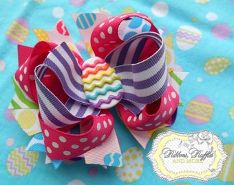 Easter Egg Boutique Hair Bow