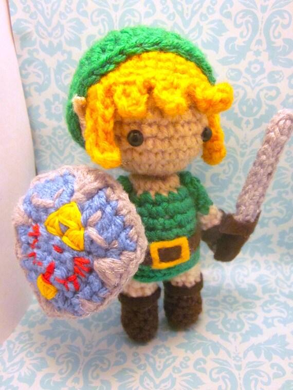 Zelda Amigurumi Doll : Link Zelda inspired Amigurumi Doll by SpudsStitches on Etsy