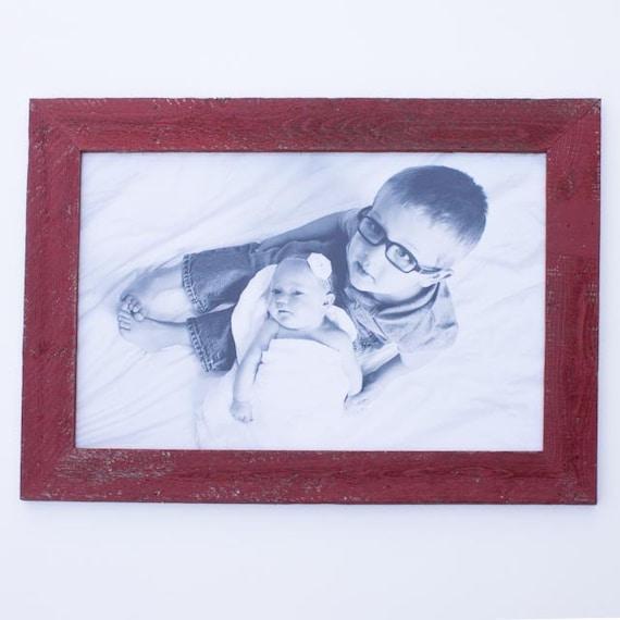 barnwood frame for 20 x 30 picture. Black Bedroom Furniture Sets. Home Design Ideas
