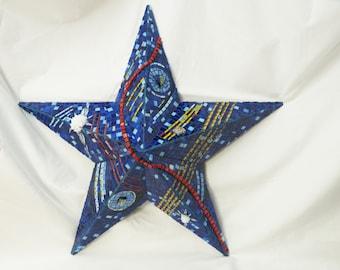 Blue Star Mosaic