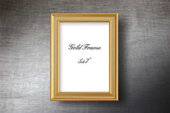 PictureFrame5x7 inches Gold or Silver