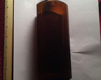 Old brown bottle