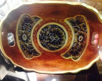 Folk Art Russian Tray/Platter