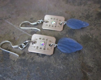 Blue Time to Leaf? Earrings