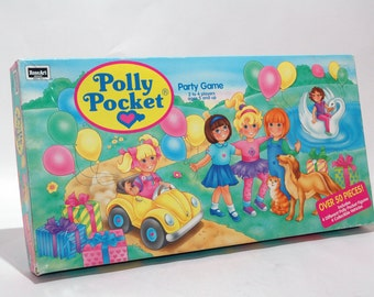 Polly Pocket Party Game from RoseArt 1994 COMPLETE (read description)