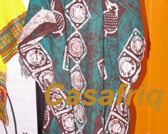 Bird batik one size