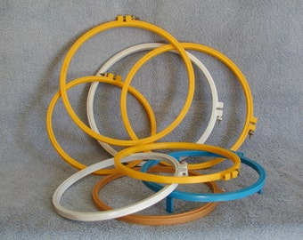 Embroidery Hoops - Plastic - Varying Sizes