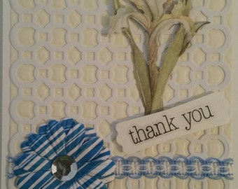 Elegant Layered Thank You Card