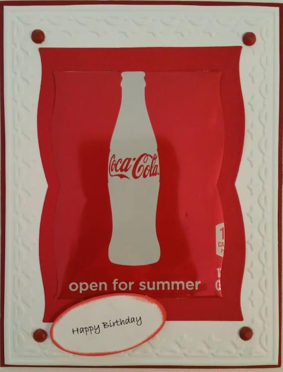 Coca-Cola Happy Birthday Card