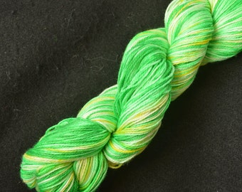 Hand Dyed Suprwash Sock Yarn