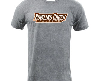 Bowling Green Wordmark - Athletic Grey