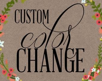 COLOR CHANGE (digital items)
