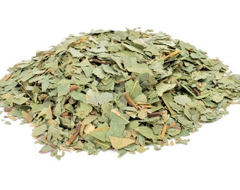 1-6oz Dried Eucalyptus Leaves, Cut Up, Shredded, // 1oz, 2oz, 3oz, 4oz, 5oz, 6oz // Clears Sinuses, Eucalyptus Globulus