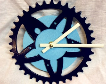 Bicycle Chainring Clock