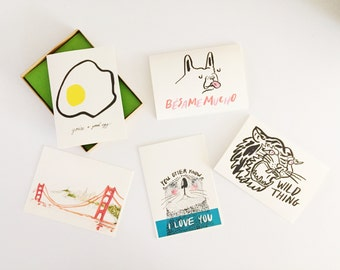 Set of ANY 5 cards - Mix&Match