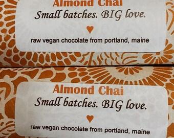 Organic Almond Chai Bar
