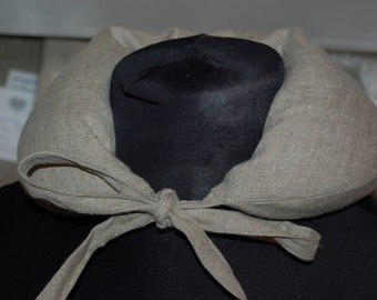 Buckwheat hulls and linen warming neck pillow - easy to use - warmer, neck warmer, linen warmer