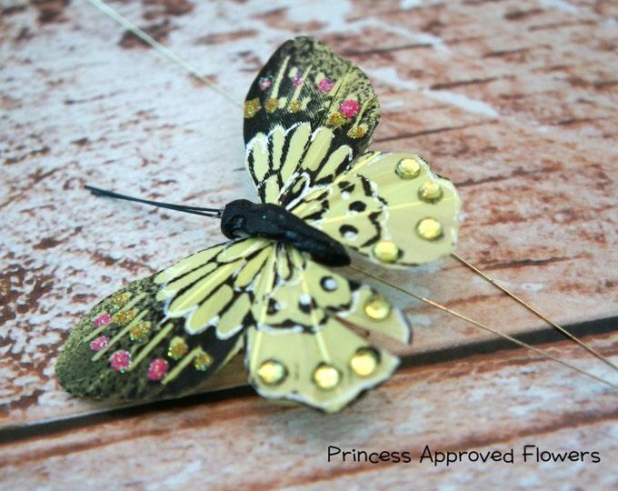 Butterfly Pick - CITRUS GREEN