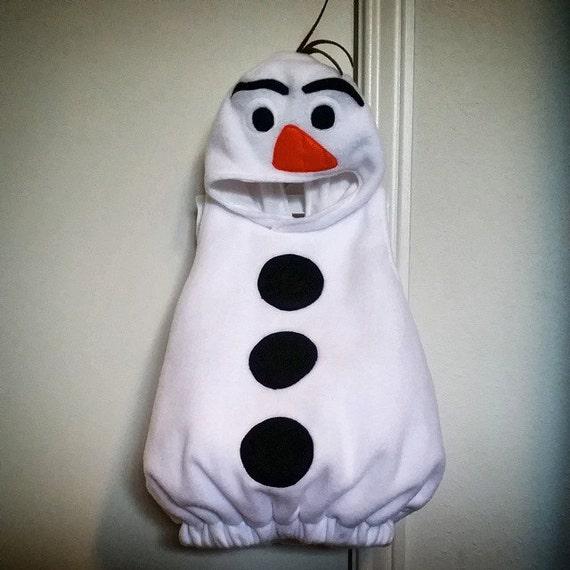 Baby Snowman Costume