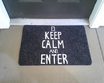 Keep Calm and Enter Mat