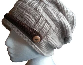 Jessica Slouch Hat Crochet Pattern