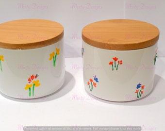 Jars - Garden Butterflies