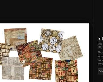 Tim Holtz 8 piece  Eclectic Element Fat Quarter Bundles