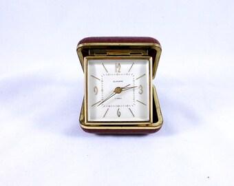 Vintage Travel Alarm Clock Germany / Europa