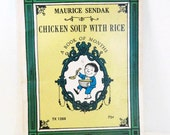 Vintage Chicken Soup With Rice A Book of Months Maurice Sendak Vintage Poetry Book Poems Scholastic Books 1972