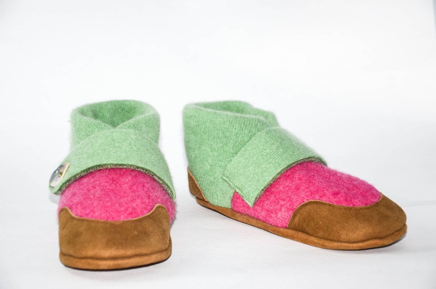 Kids Wool Shoes Girl S Mary Jane Slippers Children Soft