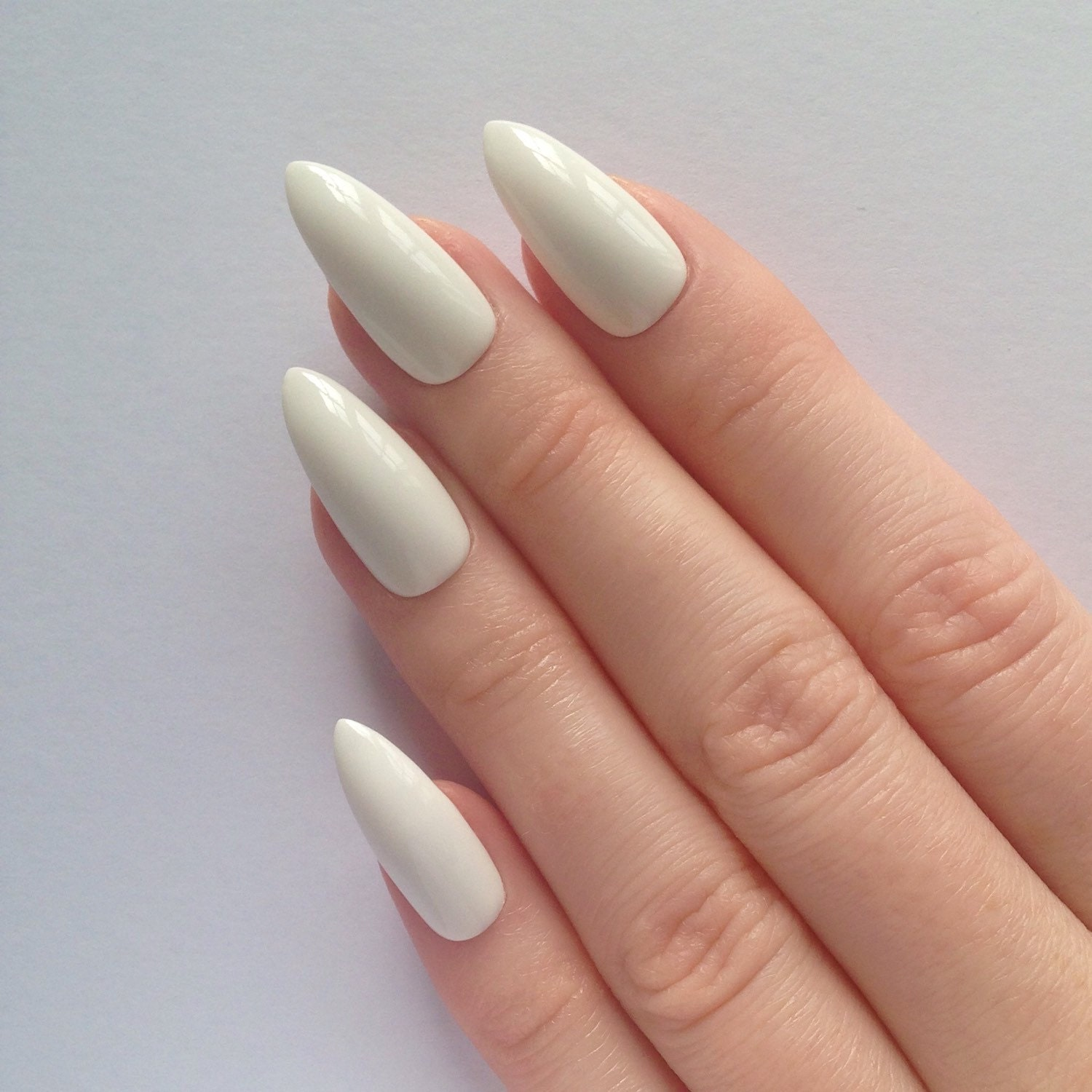 Today Live Sports: White Stiletto nails, Nail designs, Nail art ...
