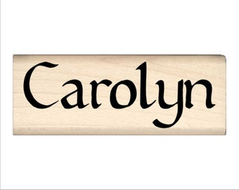 Carolyn - Name Rubber Stamp for Kids