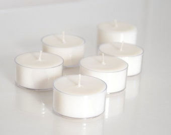 Tealight Soy Candles: 6 Scent Sample Pack